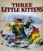 3 Little Kittens 27x36 Quilt or Craft Panel